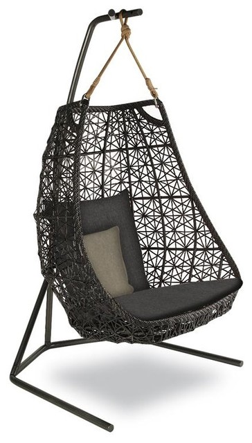 KETTAL MAIA Egg swing modern outdoor swingsets