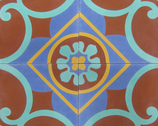 Cox Center - 8x8 Cement Tile