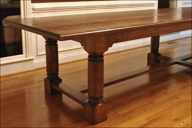 traditional dining room table traditional furniture atlanta by