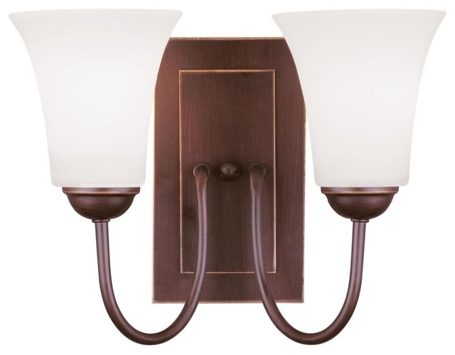 Livex Lighting-6492-70-Ridgedale - Two Light Wall Sconce transitional-wall-lighting