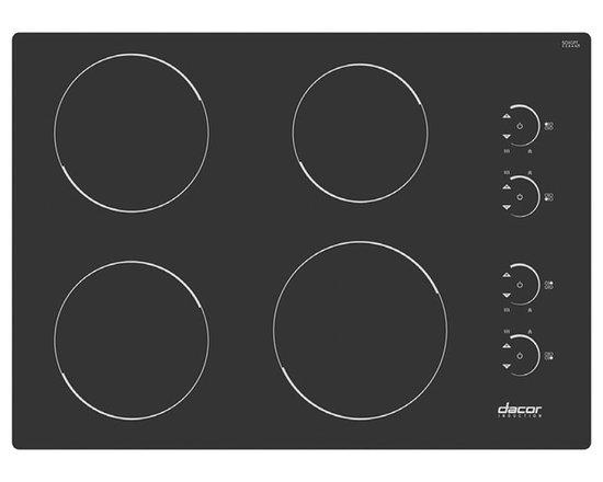 "Dacor Renaissance 30"" Induction Cooktop, Black | RNCT304B -"