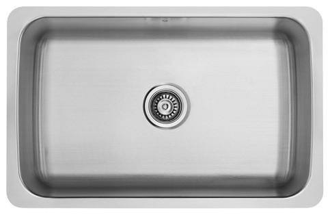 """30"""" Undermount Double Bowl Kitchen Sink modern-bath-products"""