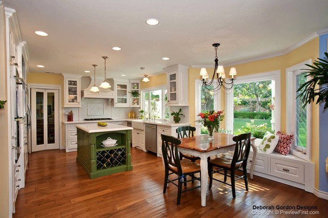 French Country Kitchen - traditional - kitchen - san diego - by