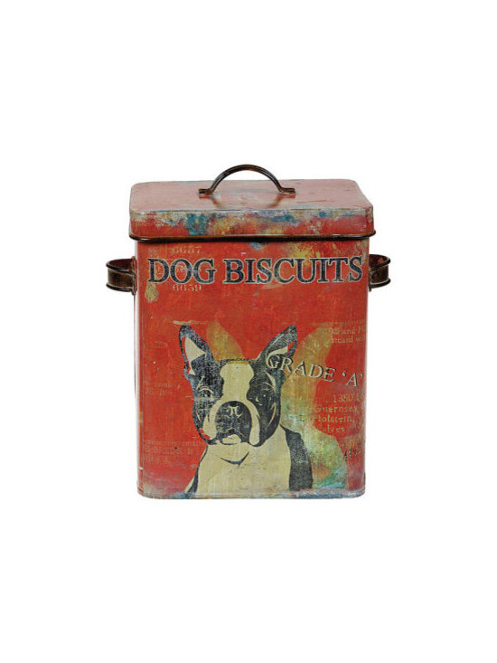 Dog Biscuit Canister -