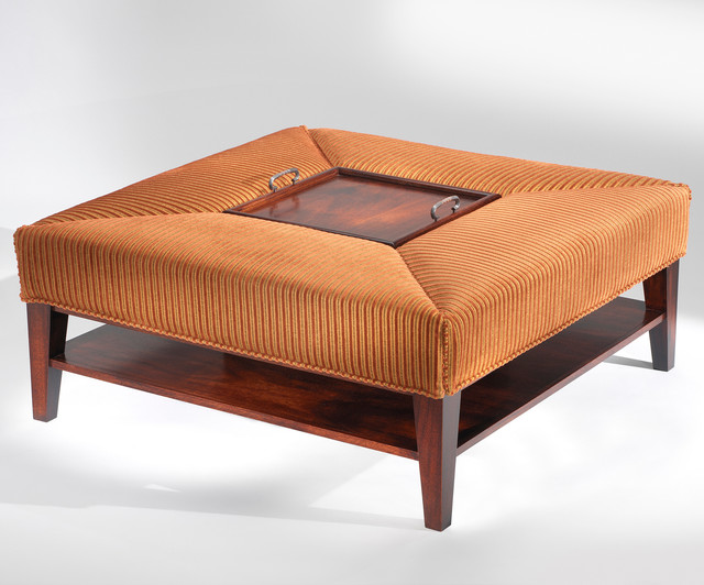 Etterbeek Cocktail Table / Ottoman - Art | Harrison Collection contemporary-ottomans-and-cubes