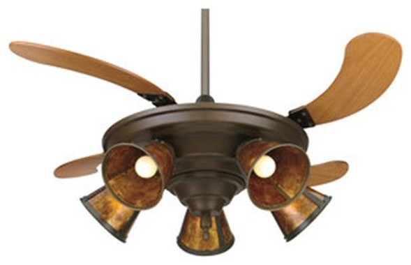 Fanimation FP825OB 43 Inches Ceiling Fan w Retractable