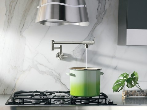 Modern Pot Filler Kitchen Faucet