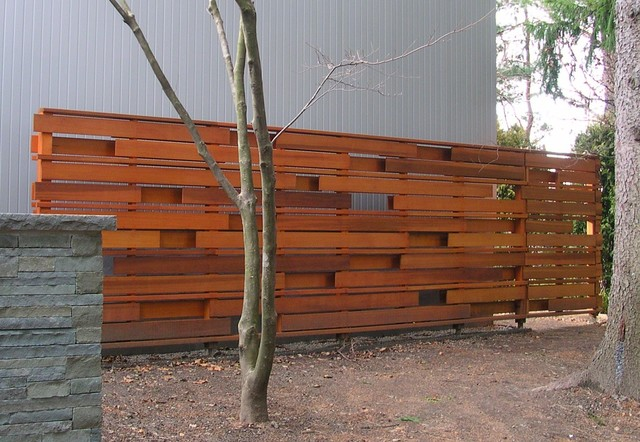Contemporary Backyard Fences : All Products  Outdoor  Lawn & Garden  Fencing & Gates