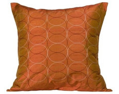 Jiti Olympic Orange Pillow contemporary-decorative-pillows