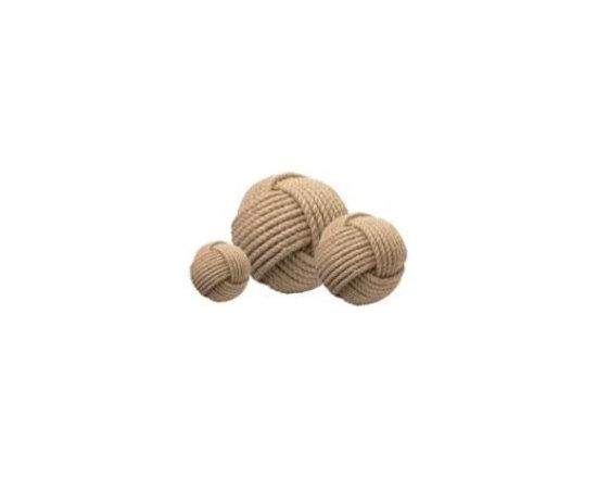 Jute Balls - Set of 3 - Clayton Gray Home -