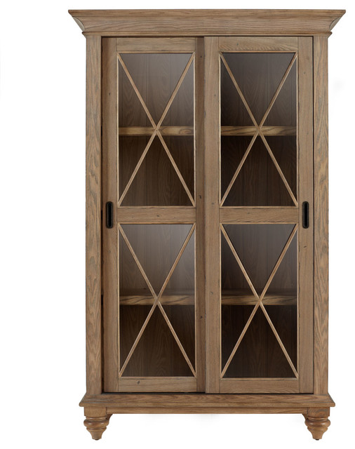 """Clarendon"" Bookcase traditional-bookcases"