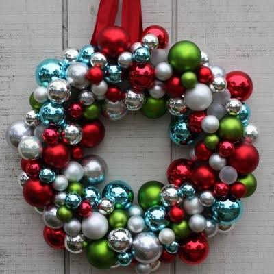 Ornament Wreath contemporary