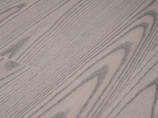 Ash Silvery - matte lacquer hardwood flooring contemporary-hardwood-flooring