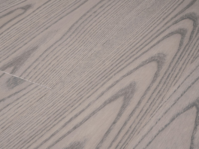Ash Silvery - matte lacquer hardwood flooring contemporary-wood-flooring