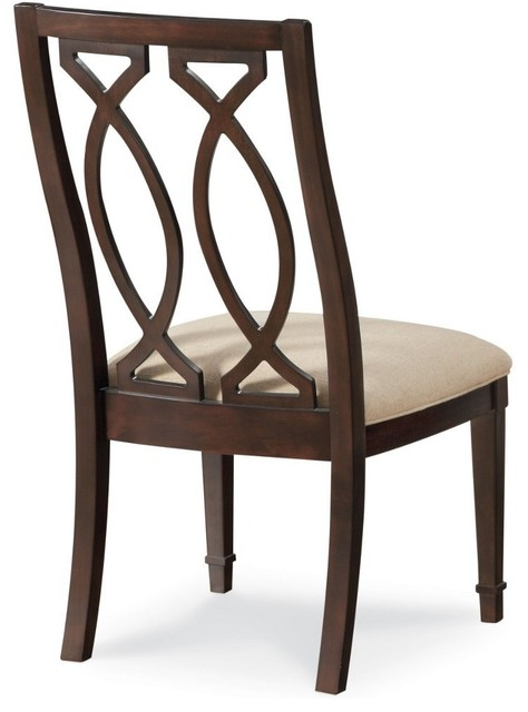 A.R.T. Furniture Intrigue Wood Back Side Chair transitional-living-room-chairs