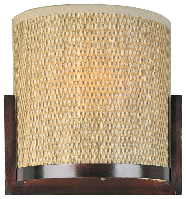 Wall Sconces Tropical : ET2 E95080-101OI Elements 1-Light Wall Sconce - Tropical - Wall Sconces - by Lighting Front
