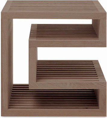 MU NUC SIDE TABLE modern side tables and accent tables