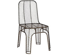 Steel Wire Chair traditional-outdoor-lounge-chairs