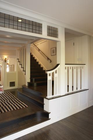 Wm. F. Holland/Architect/projects traditional staircase
