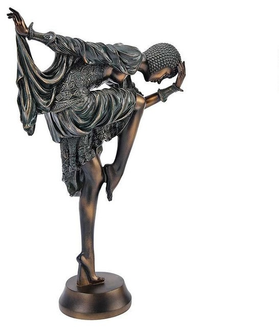 Http Www Houzz Com Photos 20385718 The Snake Dancer Art Deco Sculpture Traditional Decorative Objects And Figurines