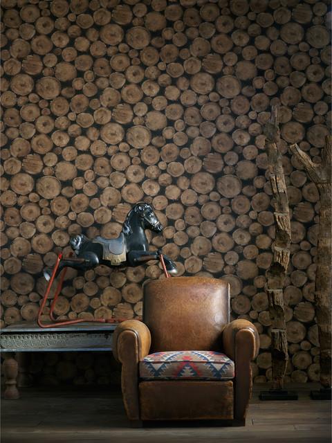 Industrial Wallpaper rustic-wallpaper