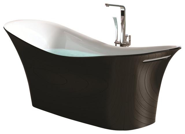 ADM Stand Alone Resin Bathtub Contemporary Bathtubs By ADM Bathroom Design