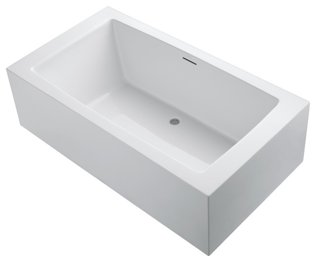One Freestanding Bathtub contemporary-bathtubs