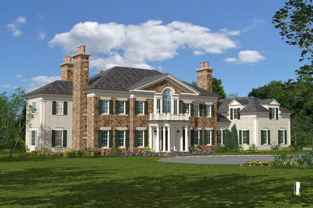 GREENWICH traditional-exterior-elevation