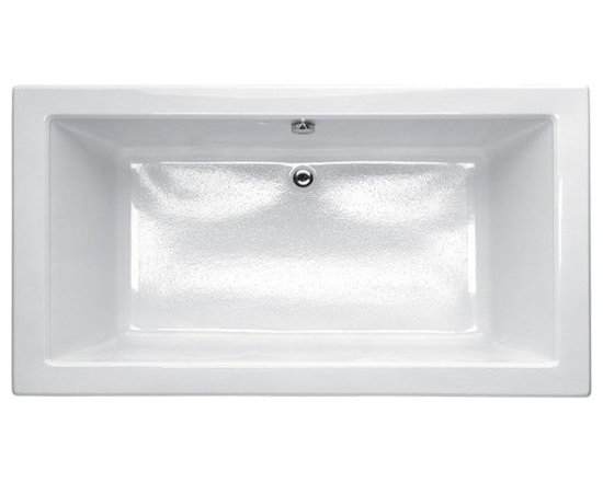 Porcher Solutions Slim Soaking Bath - Minimalist styling