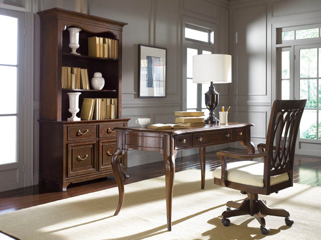 American Drew 091-946 Cherry Grove The New Generation Bookcase Base traditional-bookcases