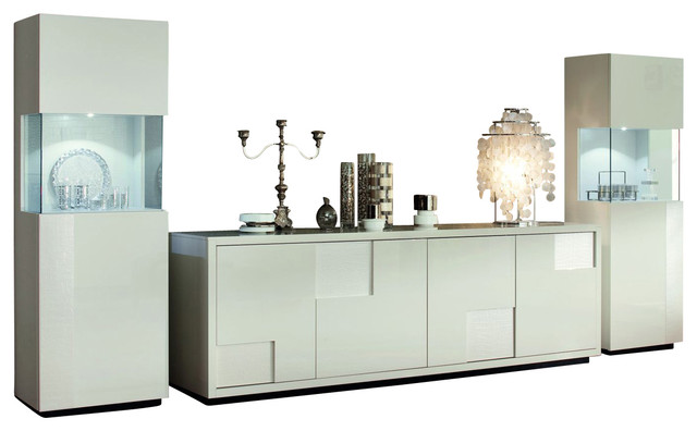 Nightfly Buffet-White modern-buffets-and-sideboards