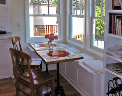 Custom Bench and Shelving traditional-kitchen