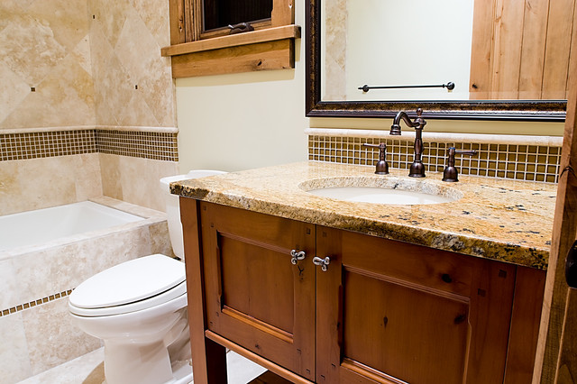 Bathrooms by Utah Home Builder, Cameo Homes Inc. traditional-bathroom