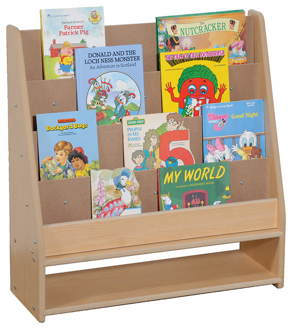 Steffywood Home Pre Kids Wooden Learning Book Storage ...