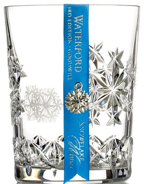 Waterford Snowflake Wishes Goodwill Double Old Fashioned contemporary-home-decor