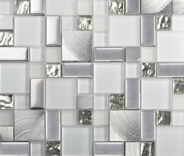 stainless steel mosaic tiles glass mosaic tile backsplash mosaic tiles