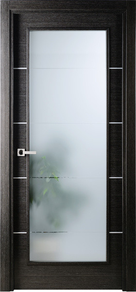 Modern Interior Single Door Italian Black Apricot With