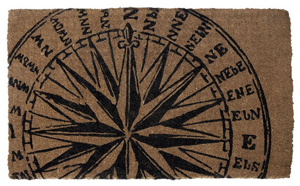 Compass Doormat contemporary-doormats
