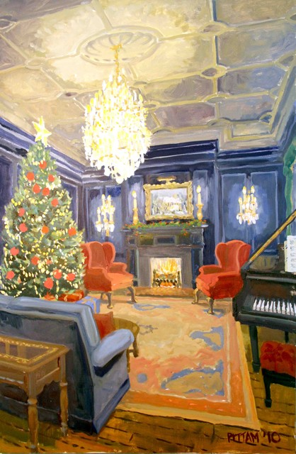 A Christmas Interior eclectic