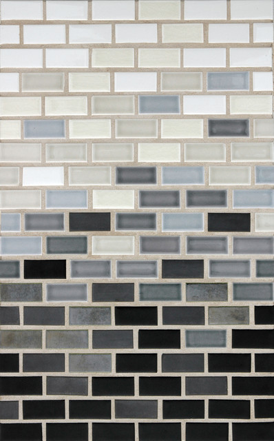 Horizontal Gradient Contemporary Tile Portland By