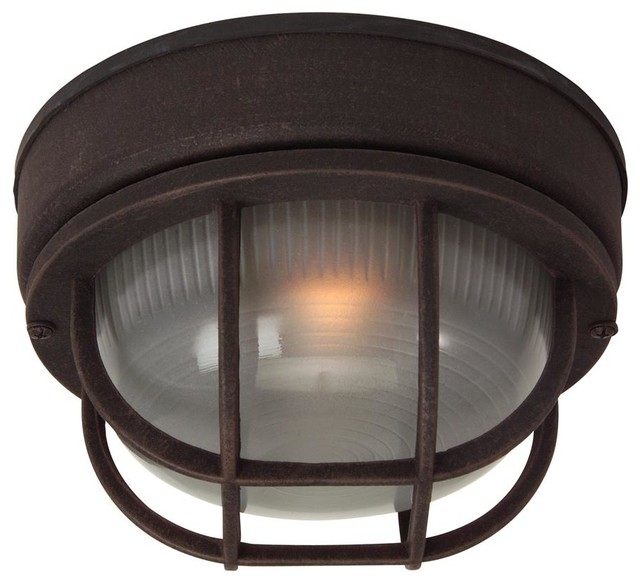 Small Outdoor Flush Mount Ceiling Light