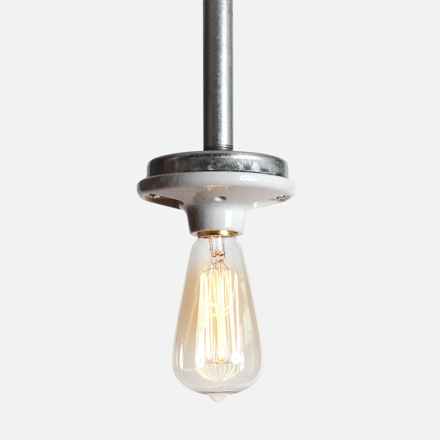 Industrial Lighting Components: Industrial Pendant Pipe Light