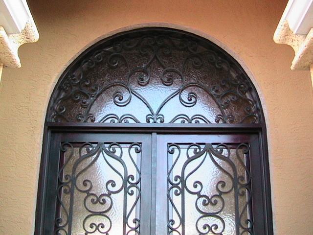 Saap Residence mediterranean-front-doors