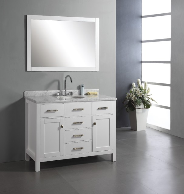 48 single bathroom vanity modern bathroom vanities and sink consoles