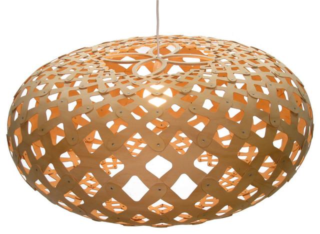 David Trubridge Kina 440 Pendant Lamp modern-pendant-lighting