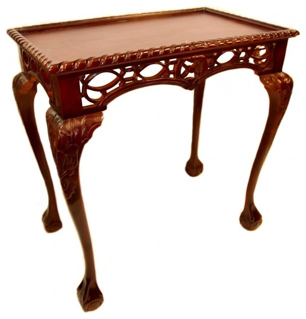 Gothic Chippendale Table Asian Side Tables And End