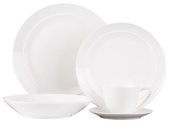 Halo 20-Piece Dinnerware Set modern dinnerware