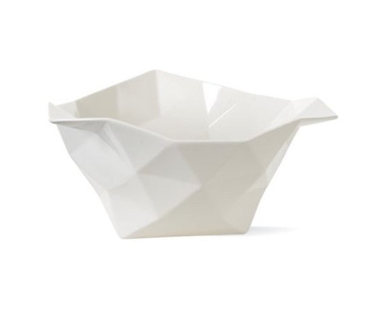 Muuto - Crushed Bowl - I have this bowl and absolutely love it. I'm afraid it ends up accumulating stray Legos and Hot Wheels cars, but when it's empty it makes the most beautiful display piece.