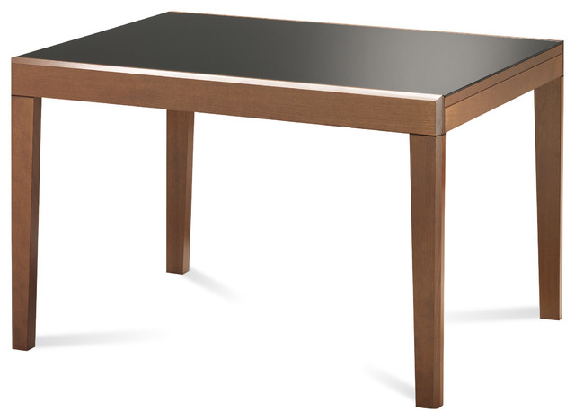 Table bois rectangle for Contemporary rectangular dining table