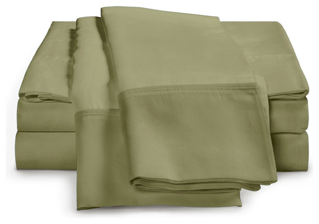 1000 Thread Count - Egyptian Cotton Sheet Set by ExceptionalSheets traditional-sheets
